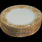 Noritake 175 Christmas Ball 8 Dinner Plates