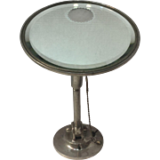 Reed & Barton Silverplate Shaving Mirror