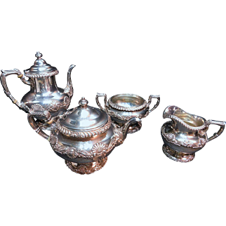 4 Piece Sterling Silver Tea set Gorham Hallmarks