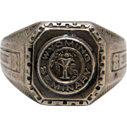 Wyoming Seminary Preparatory  School Sterling Class Ring