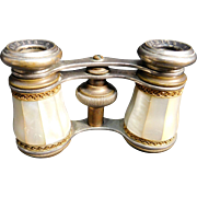 French  Mother of Pearl Opera Glasses