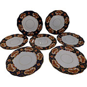 Royal Albert Heirloom 7 Salad Plates