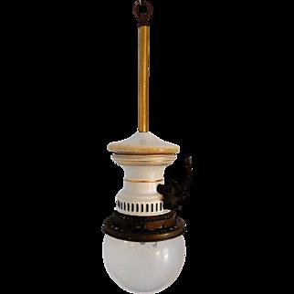 The Humphrey Inverted Arc Gas Light