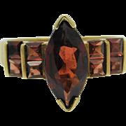 10K Almandine Garnet  ring