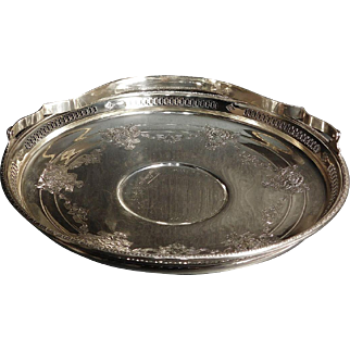 Large Sterling bowl With  Handle