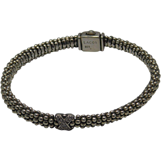 Lagos Bangle  Bracelet With Diamonds