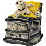 McCoy Pottery 1962 Dalmatian Cookie Jar