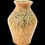 Weller Pottery Vase Brown Marvo Vase, 1920-33