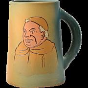 Weller Pottery Mug, 1900-05 Dickensware II Friar Mug #562 #4 E