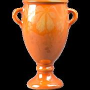 Weller Pottery Vase, 1920-25 Besline Trophy Vase