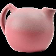 Niloak Pottery Jug , 1930's Ozark Dawn II Pink Jug