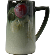 Weller Pottery Mug, 1898-1918 Grapes Eocean Mug Stein