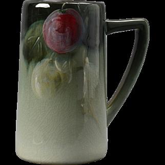 Weller Pottery Mug, 1898-1918 Grapes Eocean Mug Stein
