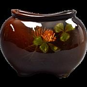 Weller Pottery Vase, 1896-1924 Louwelsa Clover Pillow Vase x33 12 #6