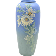 Weller Pottery Vase, 1920-30 Daisy Blue Hudson Vase Hester Pillsbury