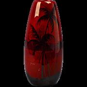 Weller Pottery Vase, 1920-25 Lamar Palm Tree Vase