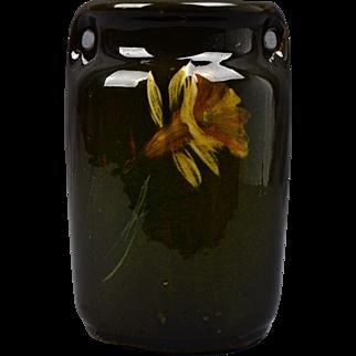 McCoy Pottery Vase, 1905 Loy Nel Art Daffodil Vase #05