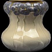 Weller Pottery Vase, 1906 Etna Pansy Vase