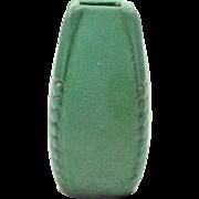 Weller Pottery Vase, 1915 Bedford Matt Green Arts & Crafts Vase