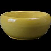 Weller Pottery Bowl, 1920's Lustre Yellow Mini Bowl