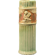 Roseville Pottery Vase, 1915-20 Donatello Cylinder Vase #118-8