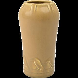 Rookwood Pottery Vase, 1921 Matte Beige Rook Vase #2326