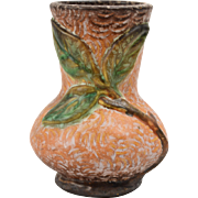 Weller Pottery Vase, 1920-33 Malverne Brown Small Vase