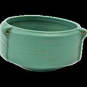 Roseville Pottery 1900-10 Matt Green Hanging Basket #3656-5