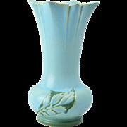 Roseville Pottery Vase, 1950 Blue Silhouette Floor Vase #789-14