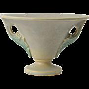 Roseville Pottery Vase, 1928 Gray Tuscany Vase #68-4