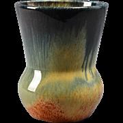 Muncie Pottery Vase, 1930's Peachskin Cabinet Vase #472-4