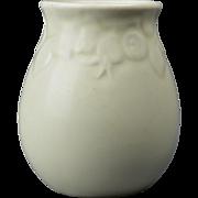Rookwood Pottery Vase, 1936 Rose Hips Motif Mat Ivory #2122