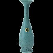 Rookwood Pottery Vase, 1955 Emerald Green Mat Bud Vase #2545
