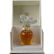 Lalique Crystal Nina Ricci L'Air du Temps Perfume Bottle with Box