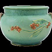 Roseville Pottery 1951 Marsh Green Bittersweet Planter #801-6