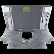 Lalique Crystal pre-1978 Venise Lion Vase Sticker