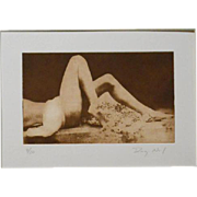 Doug Neal: Female Nude, Photogravure