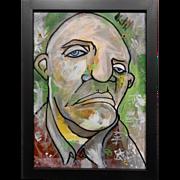 Graffiti Man Contemporary Portrait