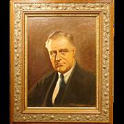 Filip Lundstrom portrait of Franklin Delano Roosevelt