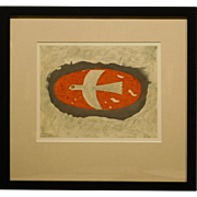 Georges Braque Original Stone Lithograph, 1967