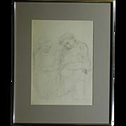 Kathe Kollwitz 1935 lithograph reproduction