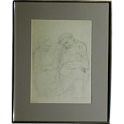 Kathe Kollwitz 1935 lithograph reproduction