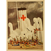 Joseph Hirsch (After): Mercy Ship, 1944 Lithograph