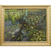 Waterlilies, Oil on Canvas c.1960