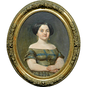 Portrait of a Young Woman, c.1850