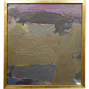 Alice Acker, Abstract Oil Painting