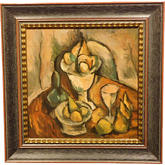 Post-Impressionist Still Life Oil Painting