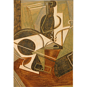 After Fernand Leger: Abstract Composition