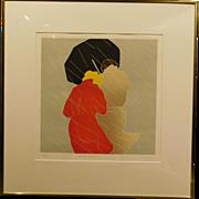 Winter Storm by DeJong, Original Serigraph Edition