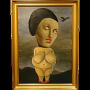 Juta Barbara Bender: Surrealist Nude Portrait